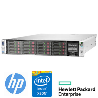 "Server HP Proliant DL380p G8 (2) Xeon Hexa Core E5-2620 2.0 32Gb Ram 600Gb 2.5"" (2) PSU Smart Array P420i"