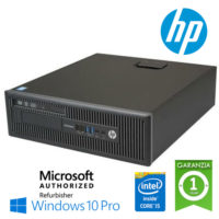 PC HP EliteDesk 800 G1 SFF Core i5-4570 3.2GHz 4Gb 500Gb noODD Windows 10 Professional