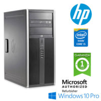PC HP Compaq 8200 Elite CMT Core i5-2500 3.3GHz 4Gb Ram 500Gb DVDRW Windows 10 Professional Tower
