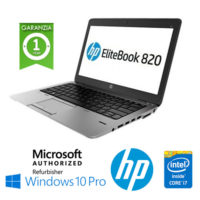 "Notebook HP EliteBook 820 G3 Core i5-6300U (6th Gen) 8Gb 256Gb SSD 12.5"" HD AG LED Windows 10 Professional"