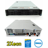 Server Dell PowerEdge R720 (2) Xeon OctaCore E5-2650L V2 1.7Ghz 25Mb Cache 48Gb Ram 4Tb Perc H710mini (2) PSU