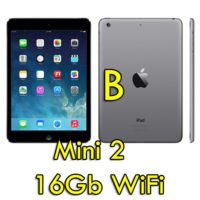 "Apple iPad mini 2 16GB ME276KS/A Grigio Siderale Wi-Fi 7,9"" Retina Bluetooth Webcam [Grade B]"