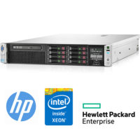 Server HP ProLiant DL380P G8 (2)Xeon Octa Core E5-2670V2 2.5GHz 128Gb Ram 2x300GB SAS (2)PSU Smart Array P420i