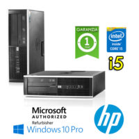 PC HP Compaq 8300 Elite Core i5-3330 3.2GHz 8Gb Ram 240Gb SSD DVD SFF Windows 10 Professional