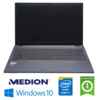 """Notebook Medion Terraque W650RB Core i7-6700HQ 2.6GHz 16Gb 500Gb 15.6"""" Geforce 940M 2GB Win. 10 Home NUOVO"""