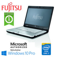"Notebook Fujitsu Celsius H710 Core i7-2640M 8Gb Ram 265Gb DVD-RW 15.6"" Windows 10 Professional"
